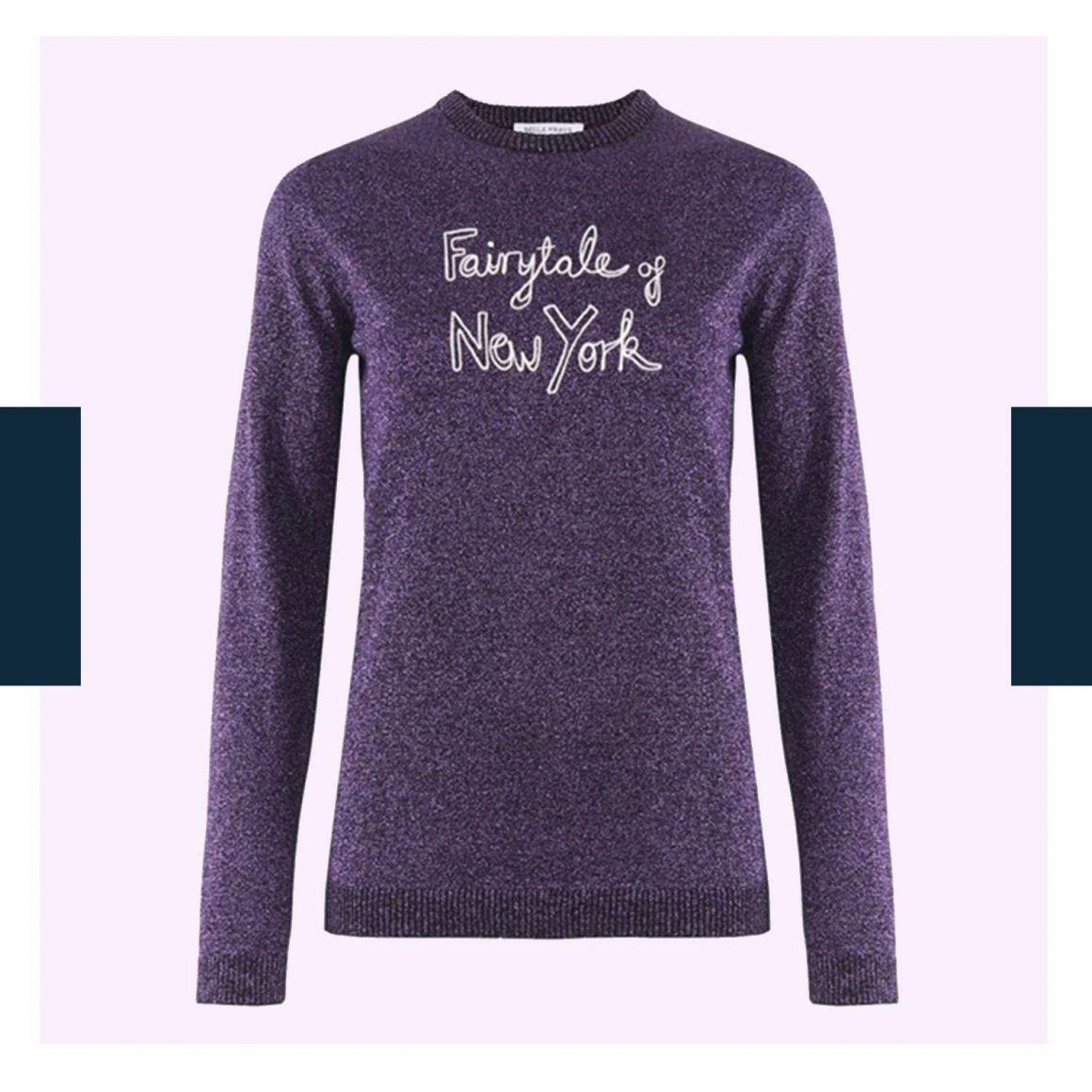 Le pull Fairytale of New York de Bella Freud