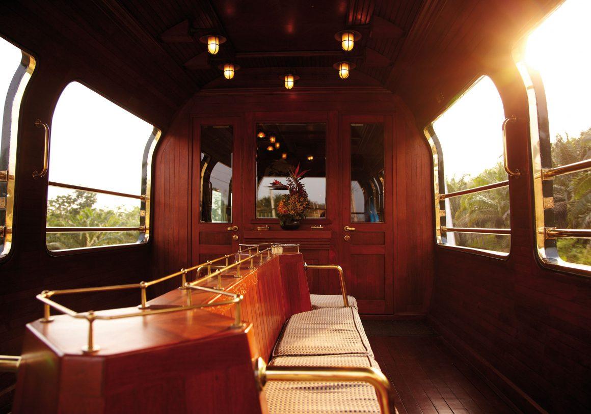 Virée à bord de l'Eastern & Oriental Express