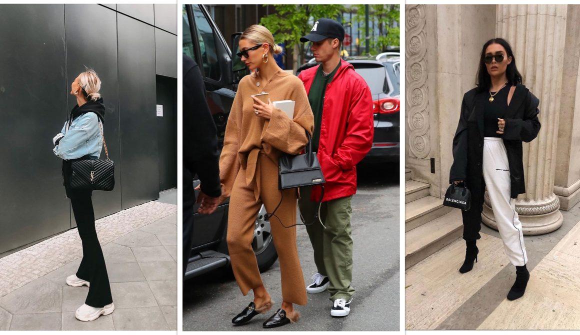 Exemples de looks du vestiaire loungewear