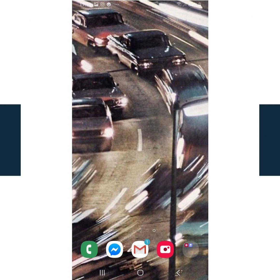 Le fond d'écran du téléphone de Quentin Pontonnier