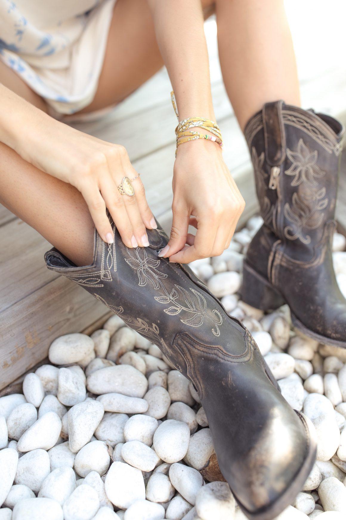 Boots santiag Cocozipper Mexicana