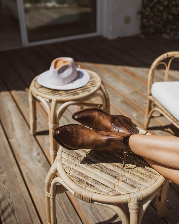 Boots en cuir Golden Goose