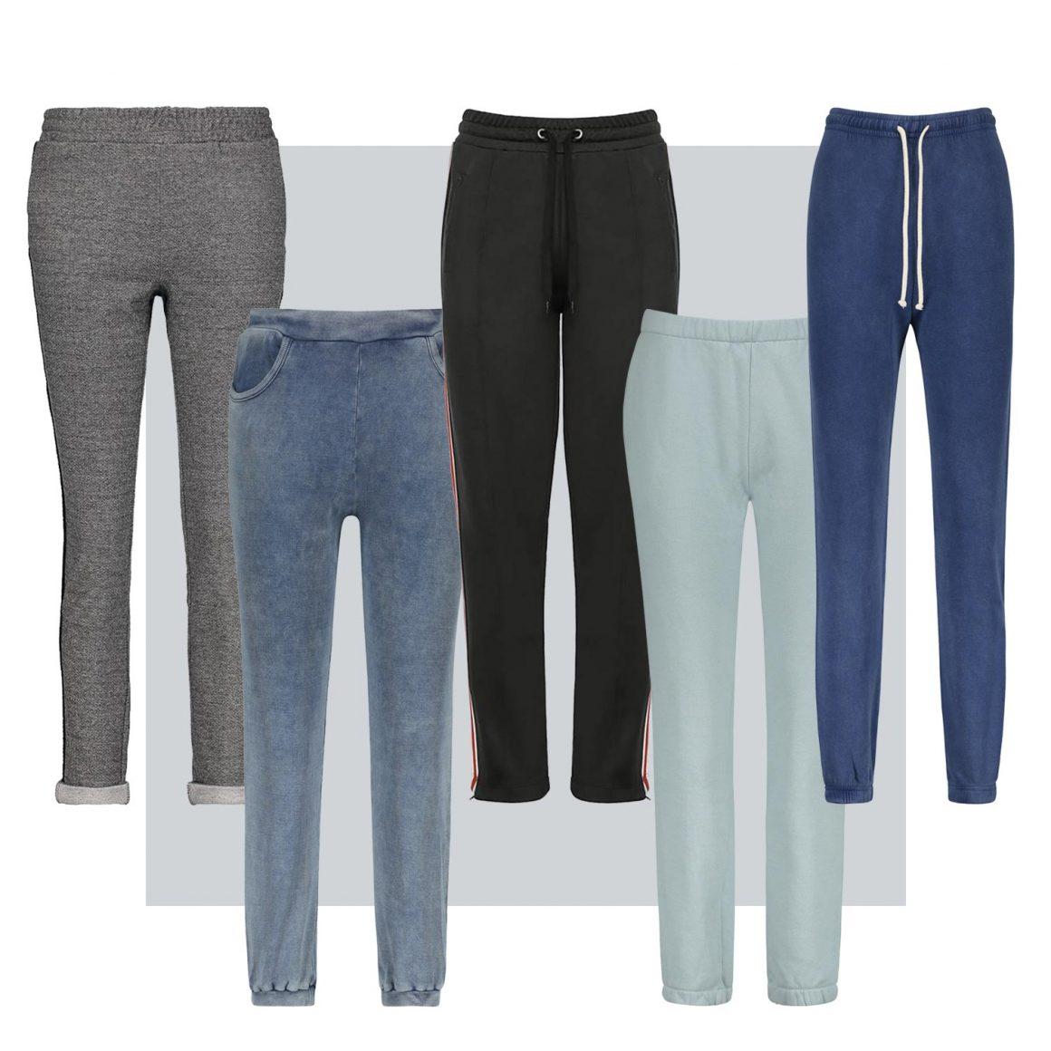 Sélection de pantalons de jogging à retrouver chez Jane de Boy