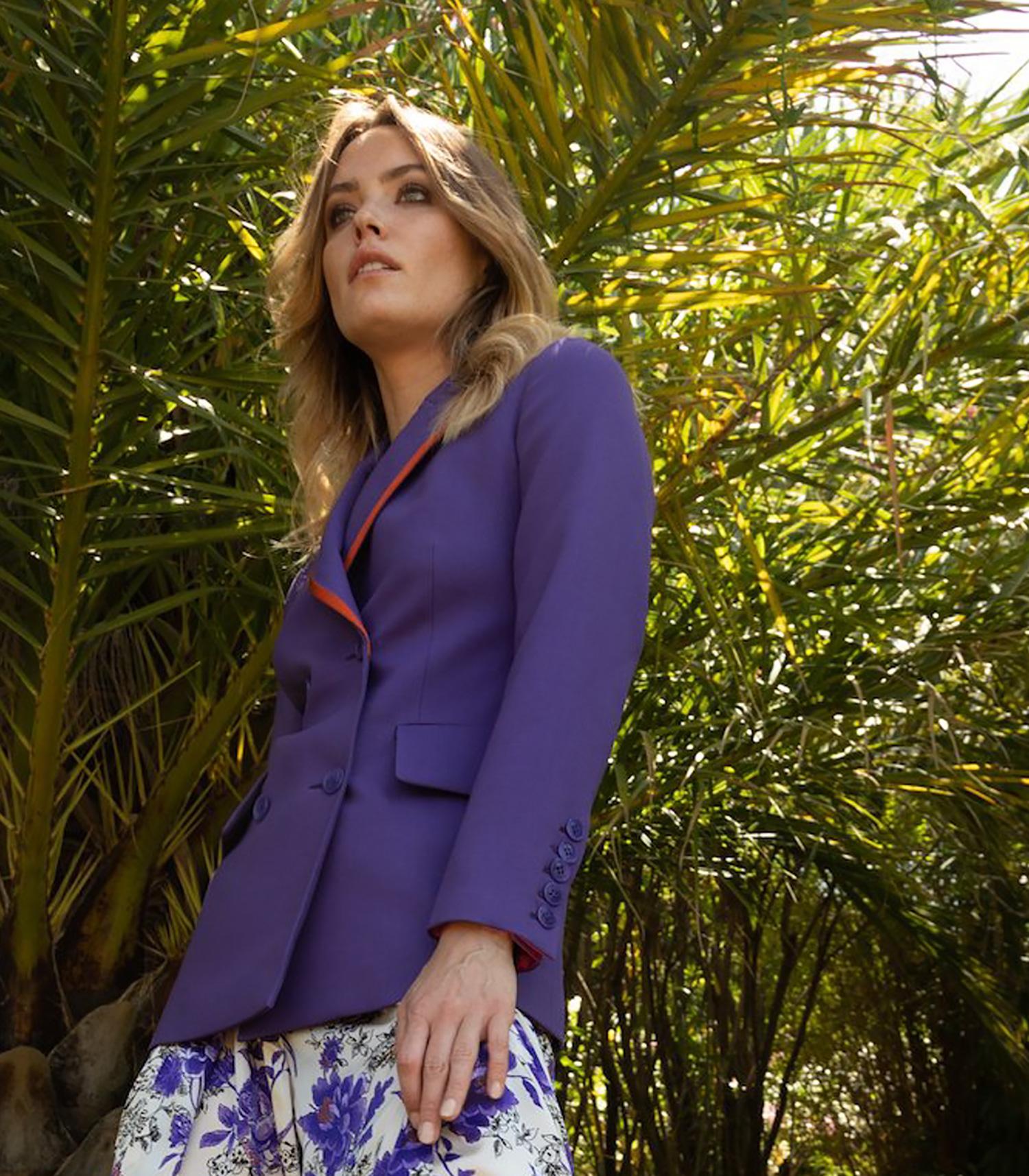 Lilas, violet, violine… Les couleurs du moment?