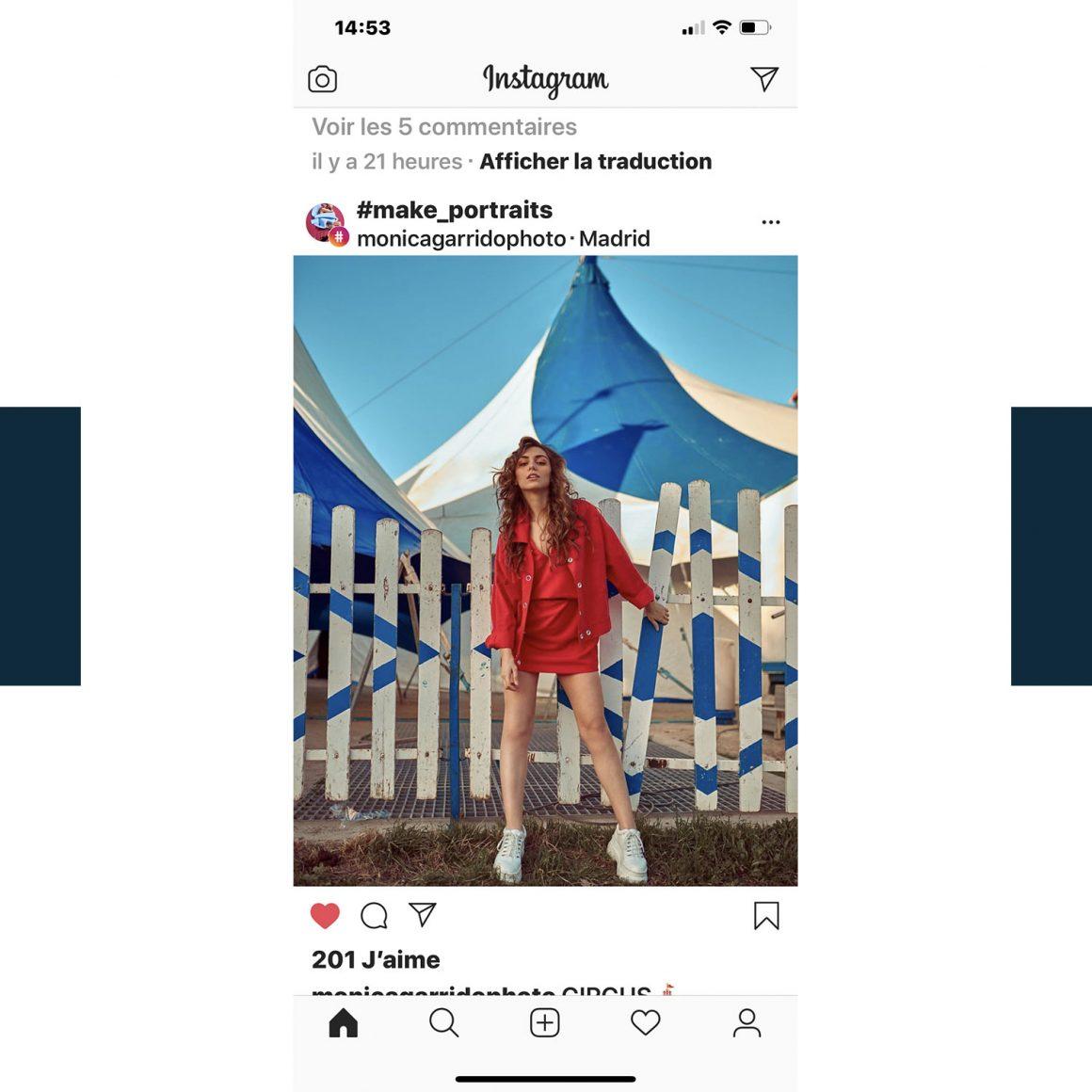 Le hashtag #make_portraits sur Instagram