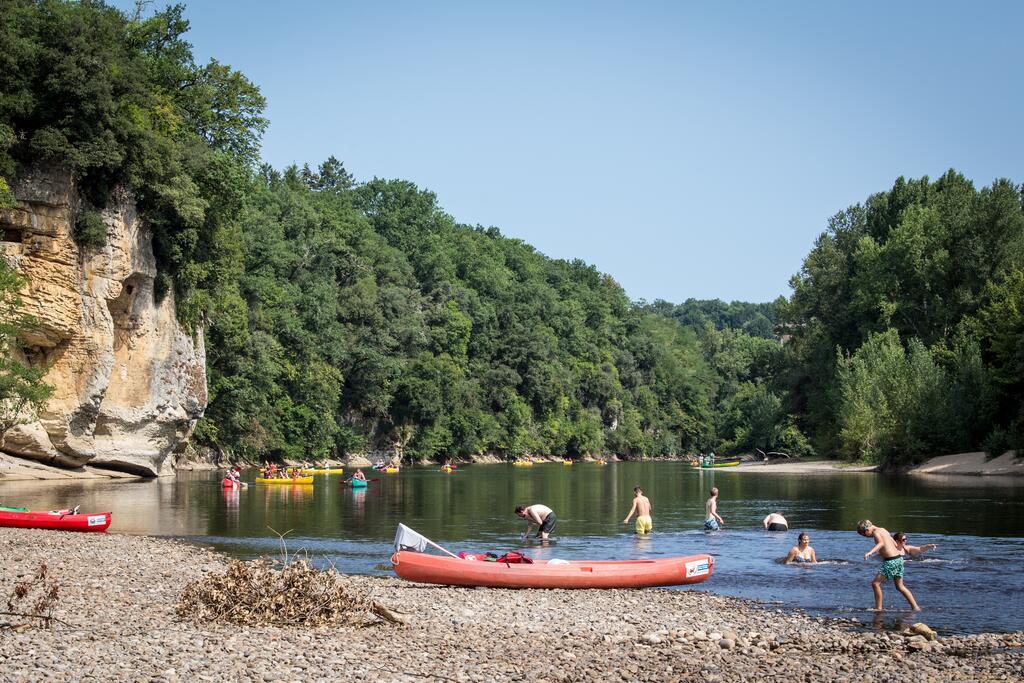 Balade en canoë sur la Dordogne