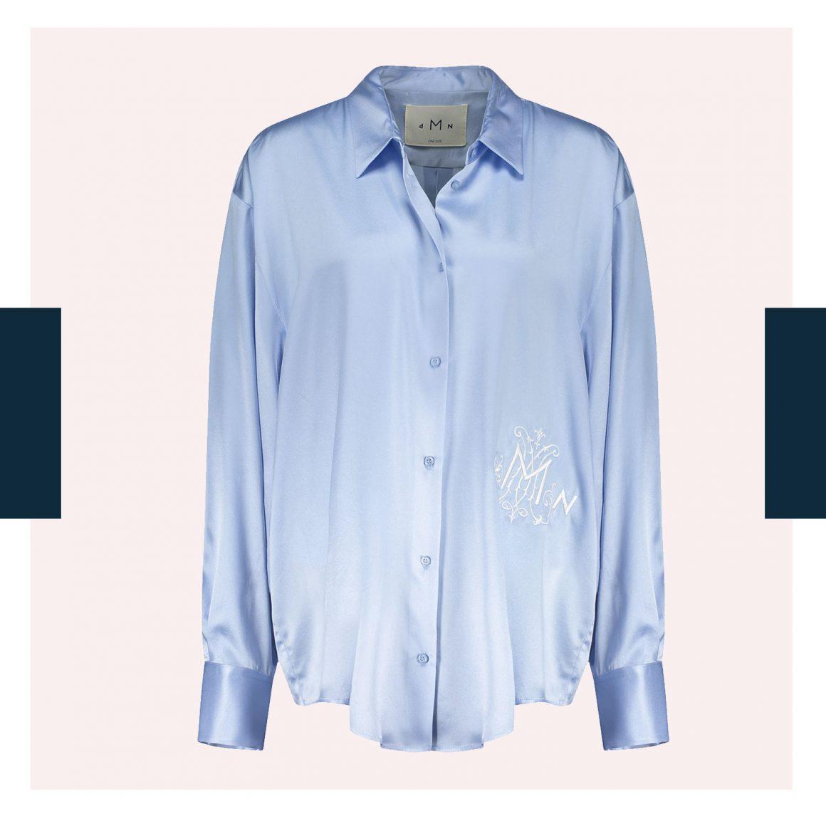 La blouse oversize Chloé de DMN et Jane de Boy