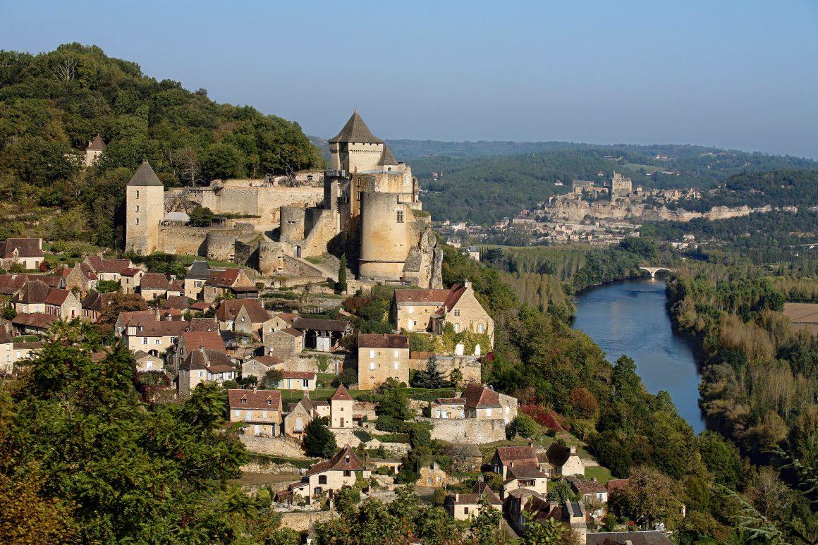 Le château de Castelnaud-la-Chapelle en Dordogne