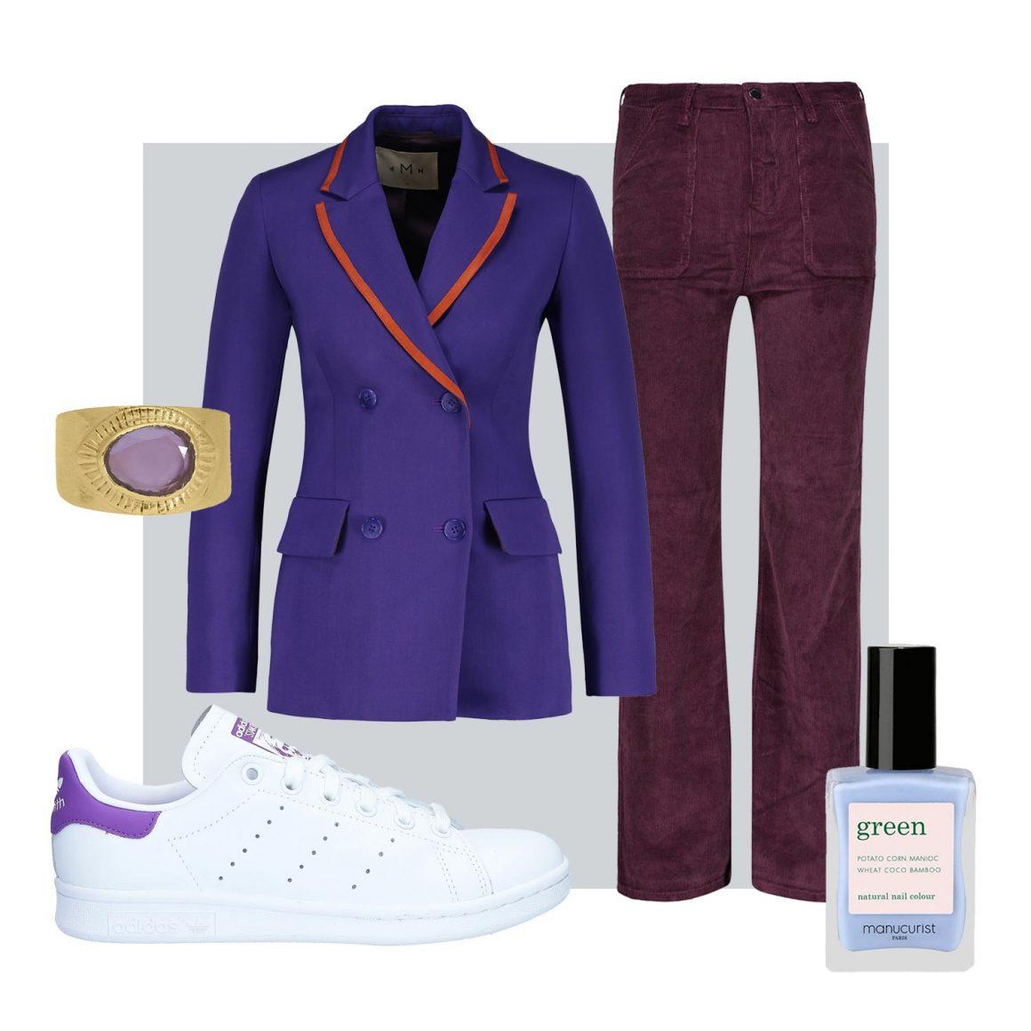 Sélection mode de pièces violettes à retrouver chez Jane de Boy