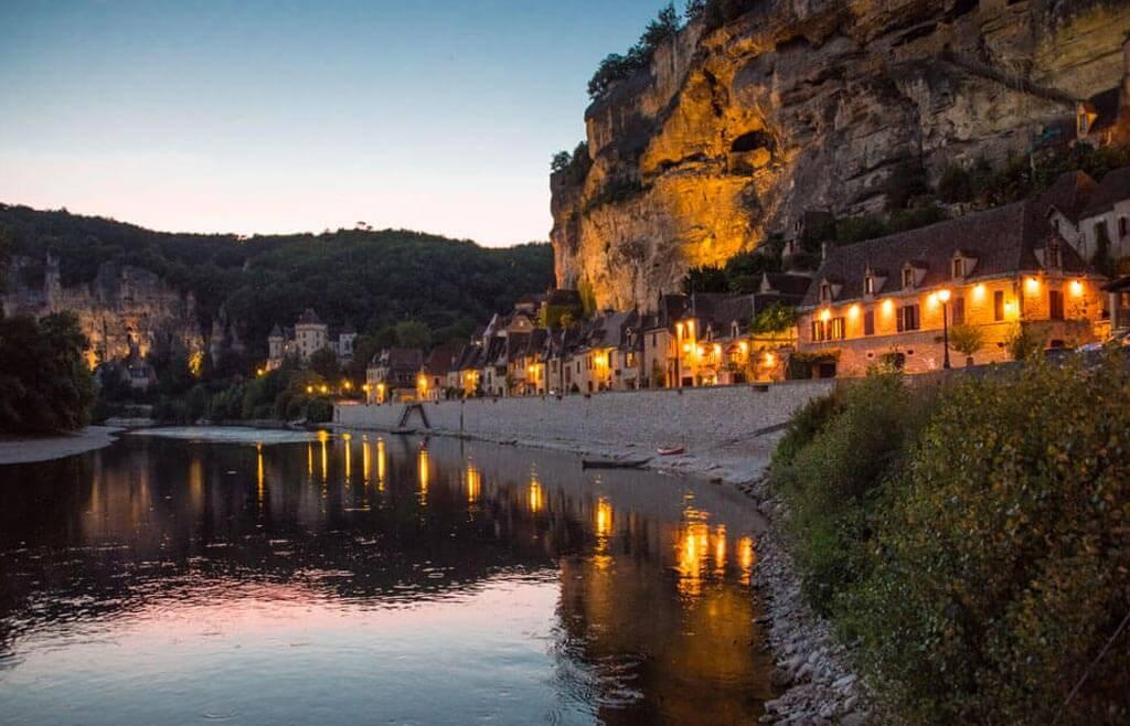 Le village La Roque-Gageac en Dordogne