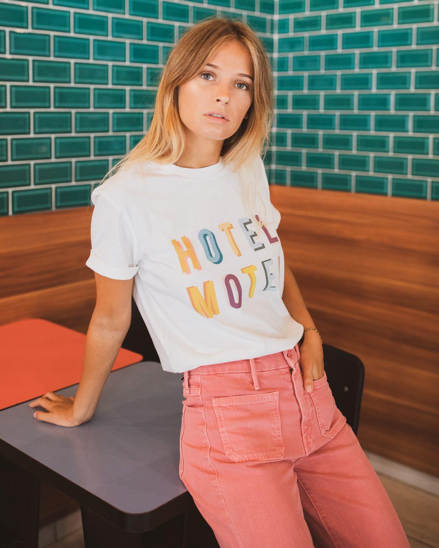 Tee-shirt Hotel Motel Elise Chalmin