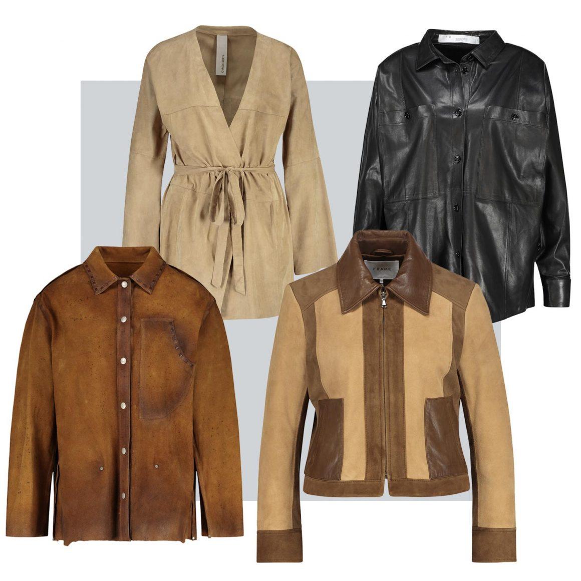 Sélection de vestes en cuir à retrouver chez Jane de Boy