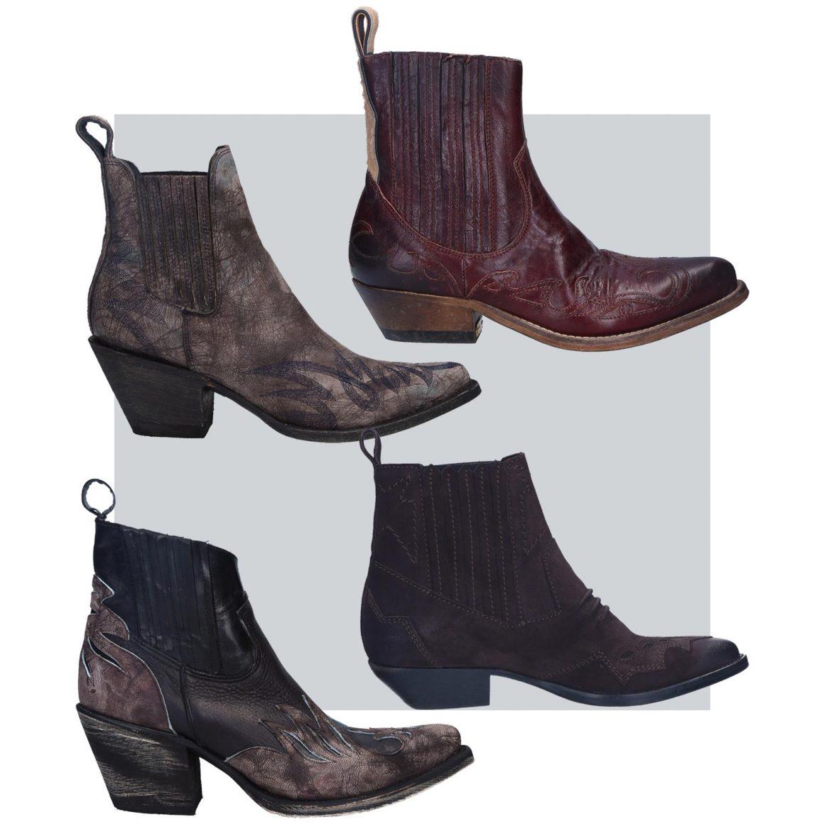 Sélection de boots santiag à retrouver chez Jane de Boy