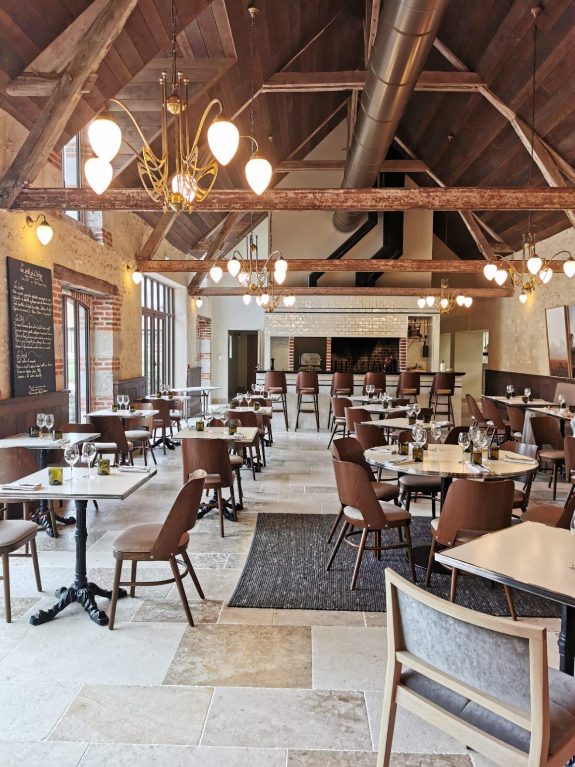 L'auberge restaurant des Sources de Cheverny