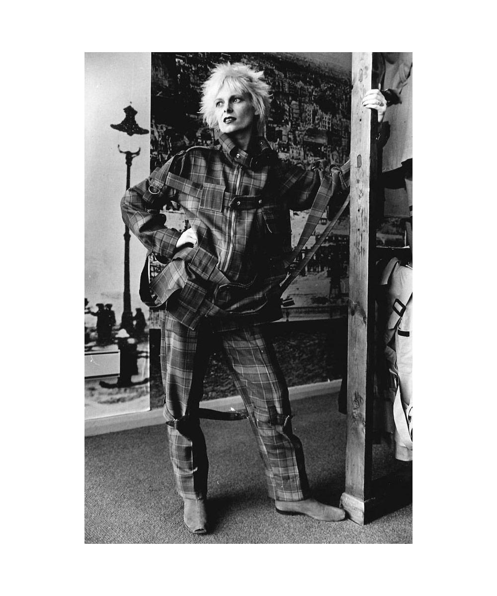 La designer de mode Vivienne Westwood dans les années 70
