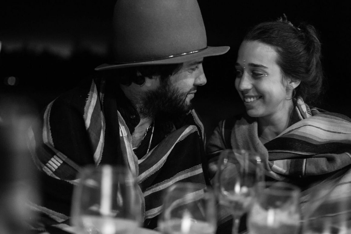 Maor Cohen avec sa compagne