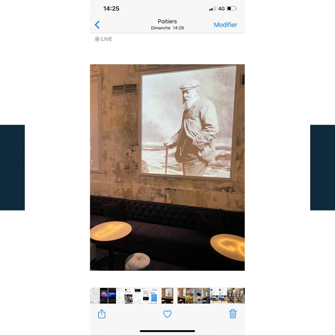 Photo du restaurant Le Blue à Poitiers