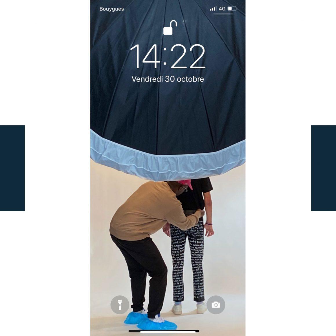 Le fond d'écran du téléphone de Leandre Lerouge