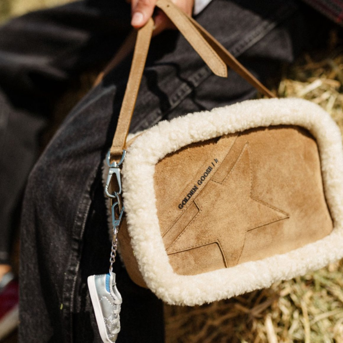 Le sac Star Bag en shearling Golden Goose