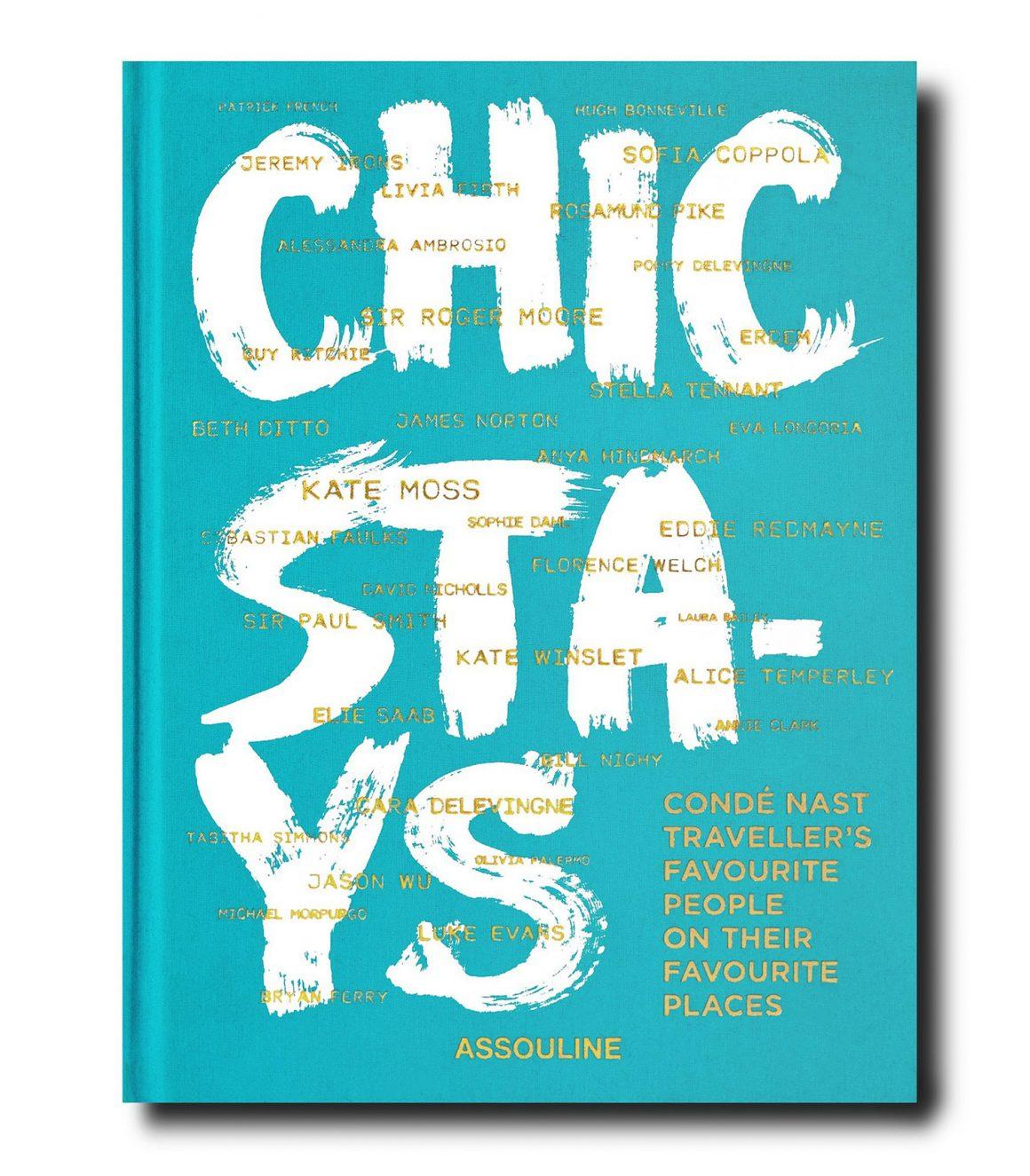 Le livre « Chic Stays » en collaboration avec Condé Nast Traveller