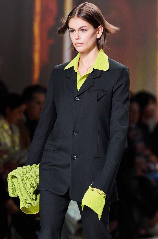Le vert pastel est à l'honneur dans la collection automne-hiver 2020 Bottega Veneta