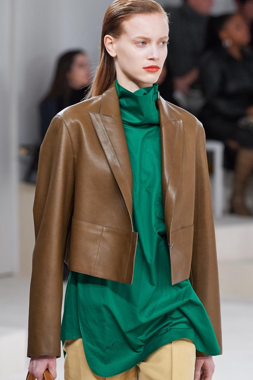 Sublime vert émeraude de la collection Automne-Hiver 2020 Hermès