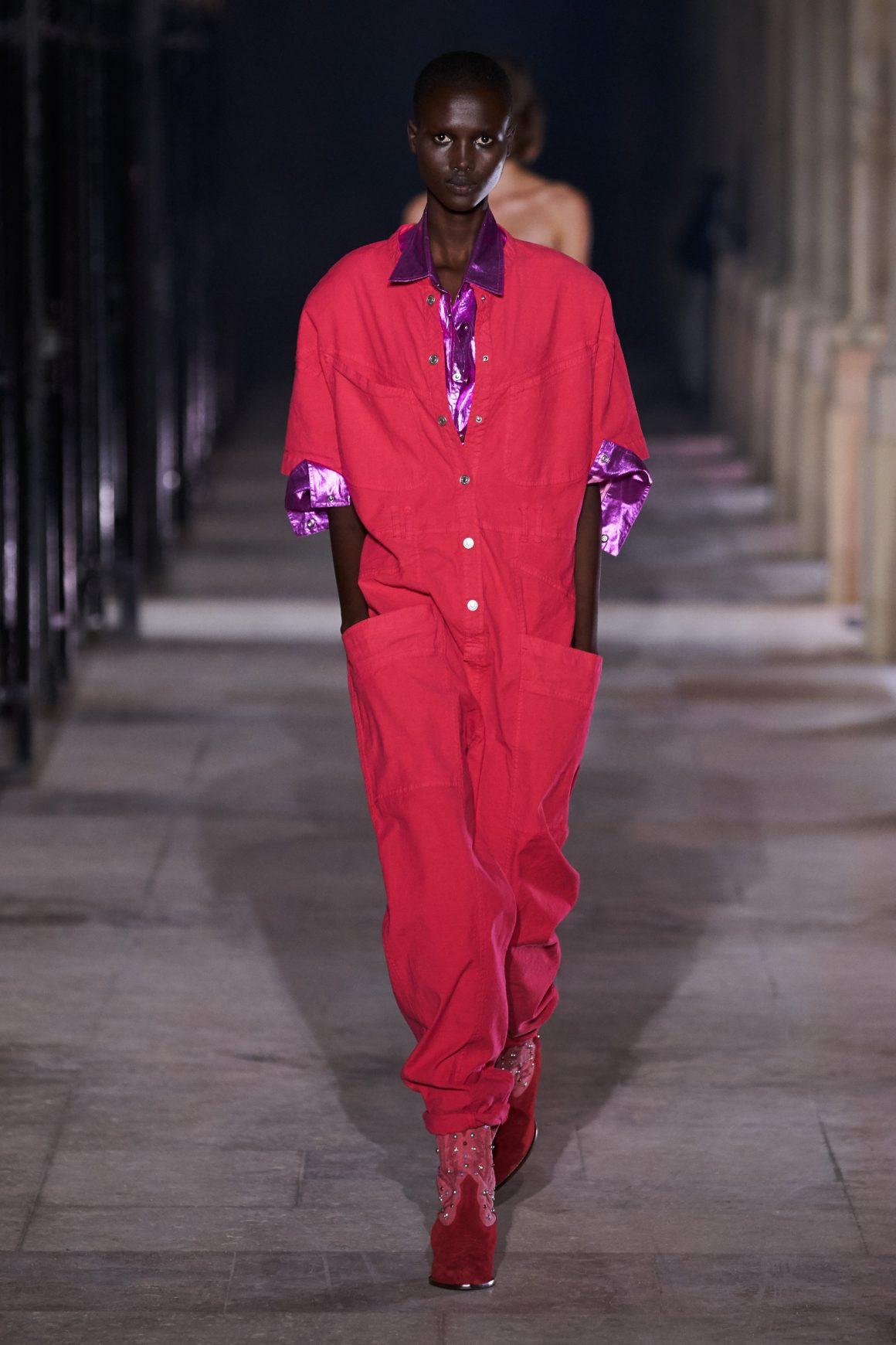 Un look du vestiaire workwear 2021 Isabel Marant