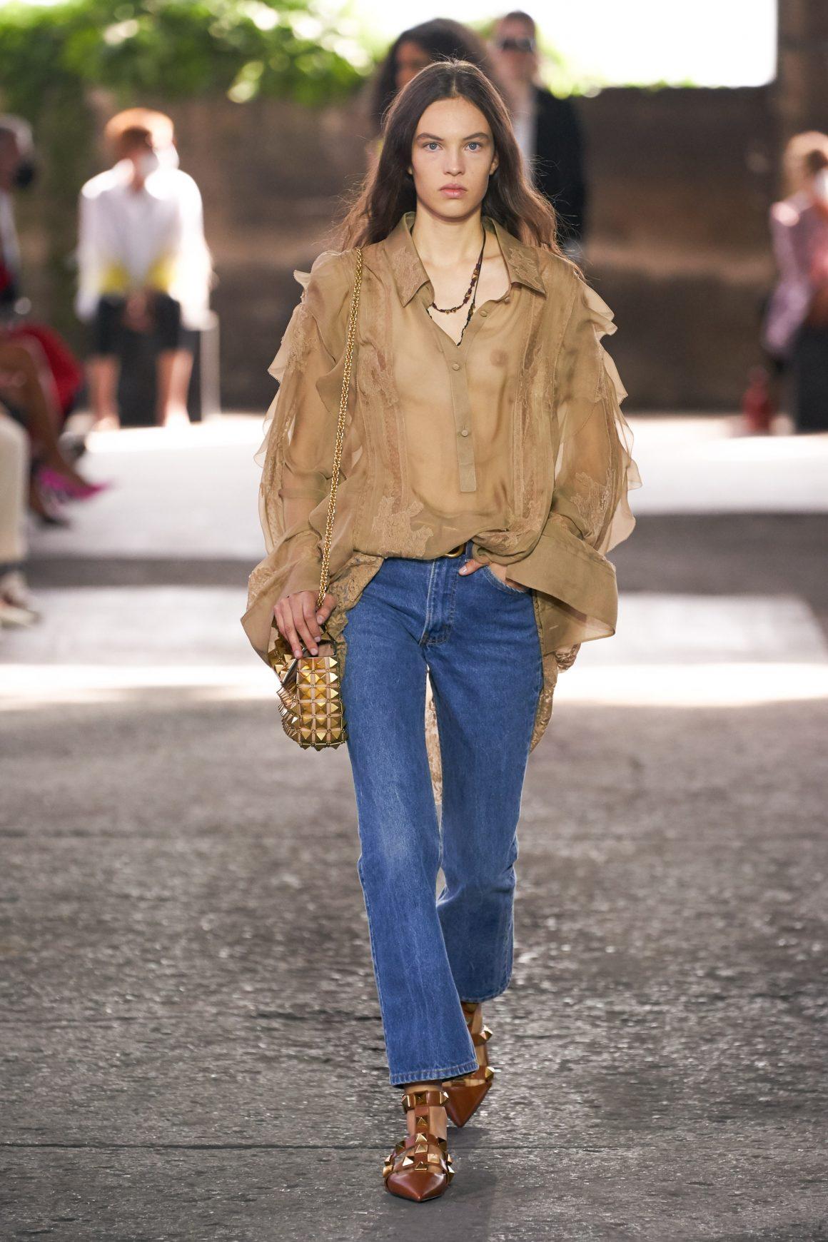 L'authentique blue jeans vu par Celine