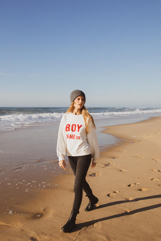 Coup de cœur pour le sweat « Boy Jane De » en version tomboy