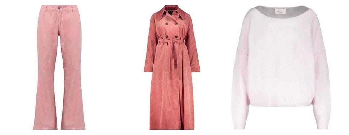 Sélection de vêtements roses à retrouver chez Jane de Boy