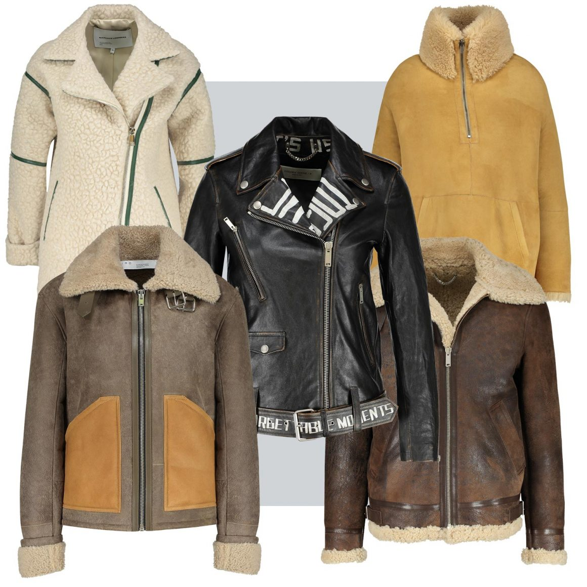 Sélection de cuirs et peaux lainées à retrouver chez Jane de Boy