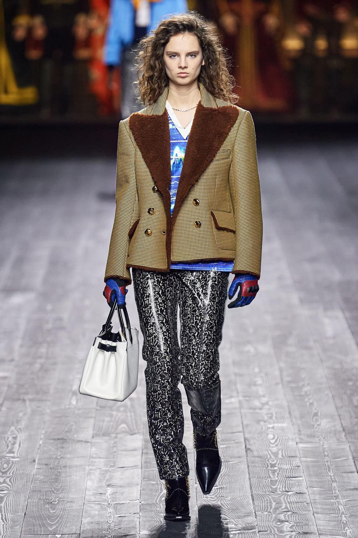 Des cuirs de la Collection Hiver 2020 Louis Vuitton