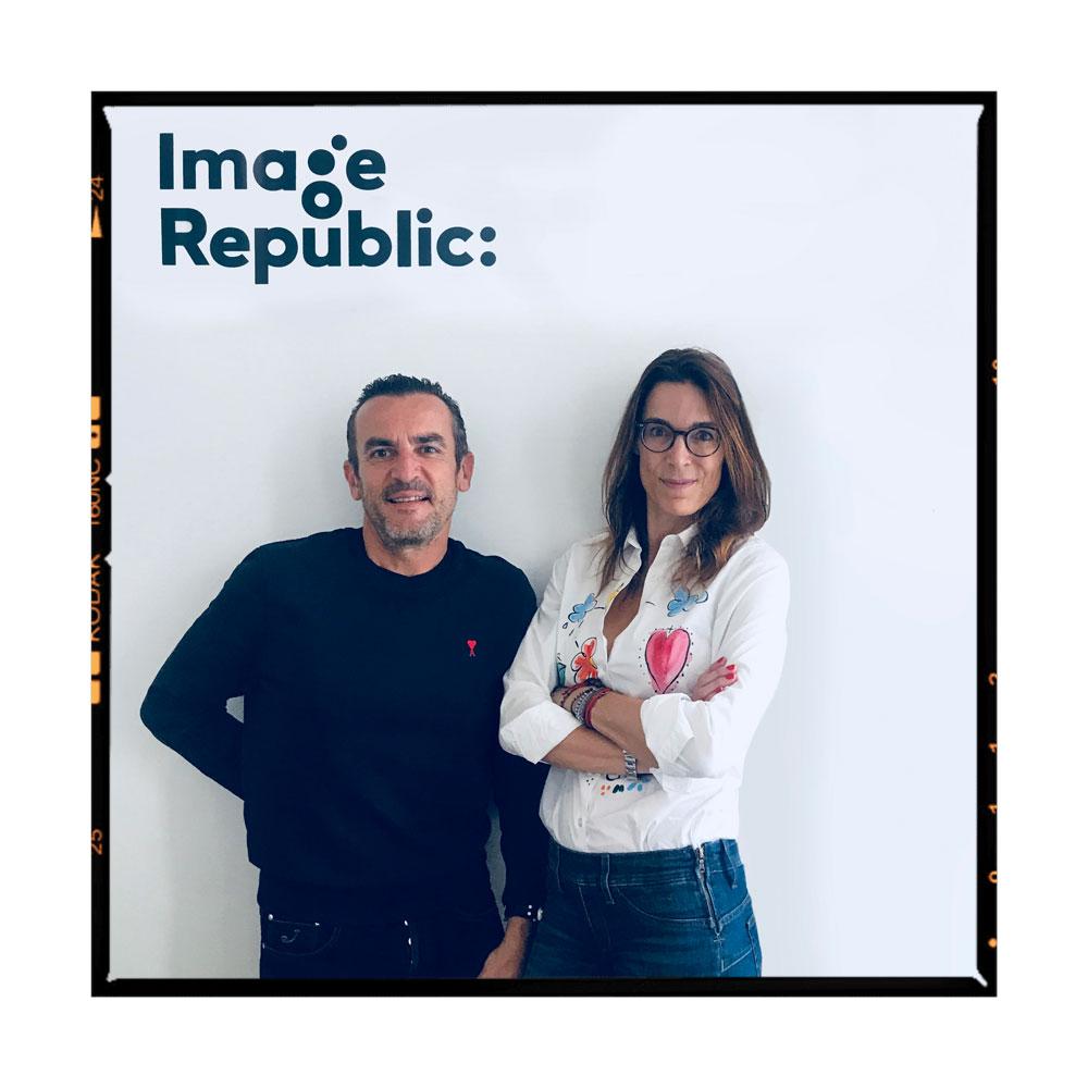 Sylvie et Stéphane sont les deux créateurs d'Image Republic