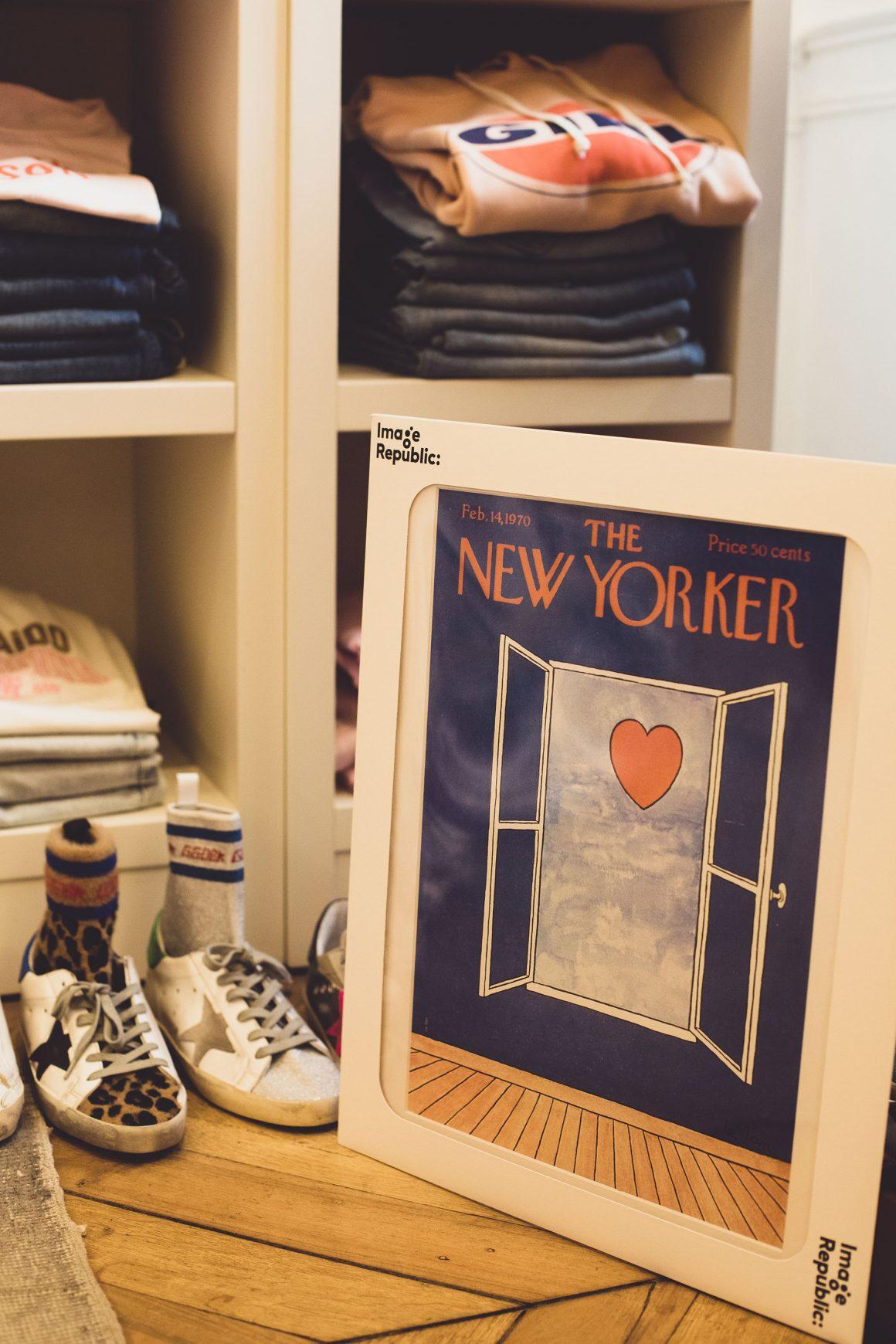 Une affiche The New Yorker par Image Republic