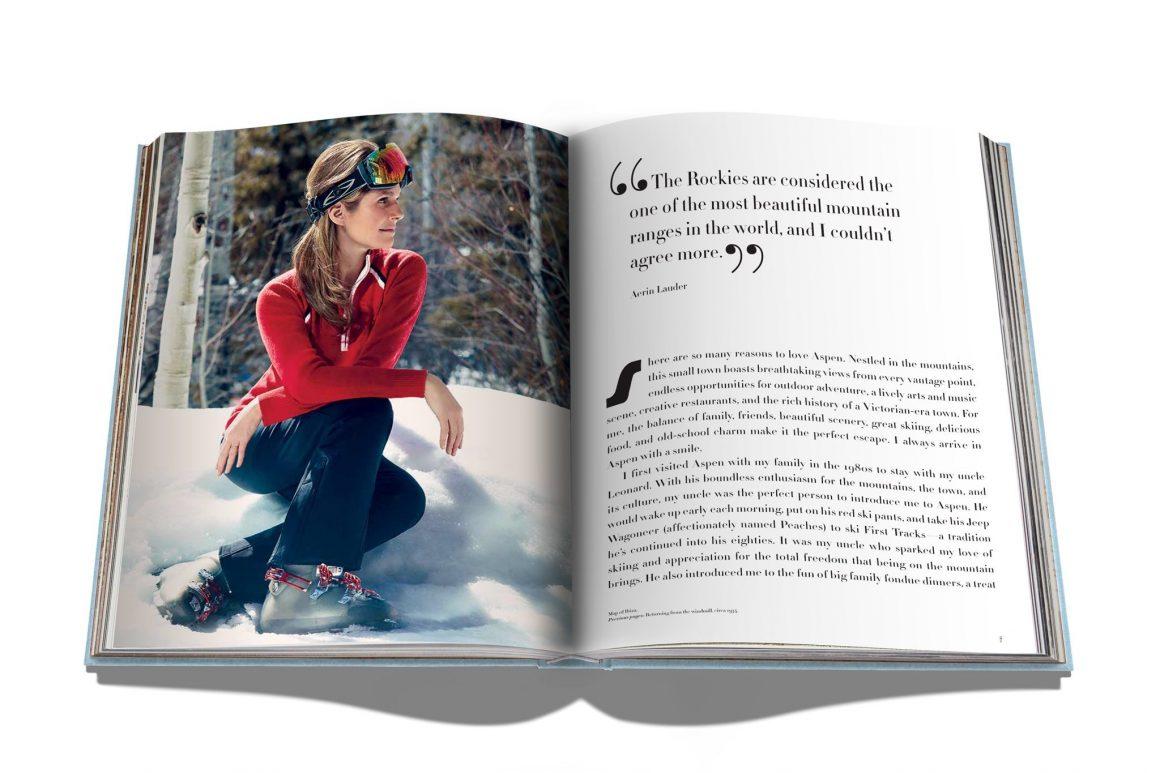 Le livre « Aspen Style» d'Assouline pour s'évader à la montagne