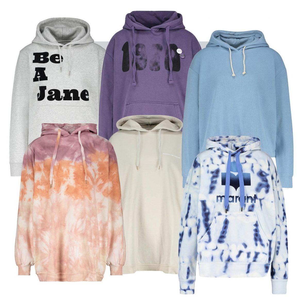 Sélection de hoodies à retrouver chez Jane de Boy