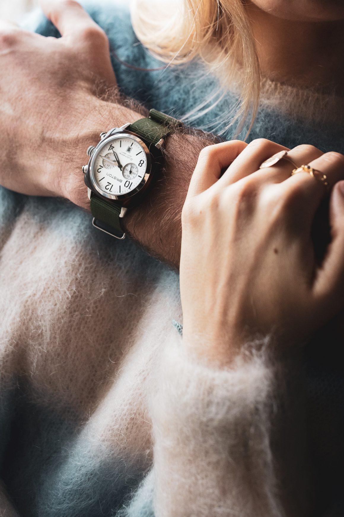 La montre pour homme Clubmaster Chronographe Briston