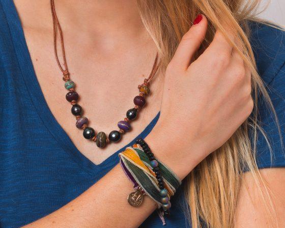 Catherine Michiels, créatrice de bijoux envoûtants