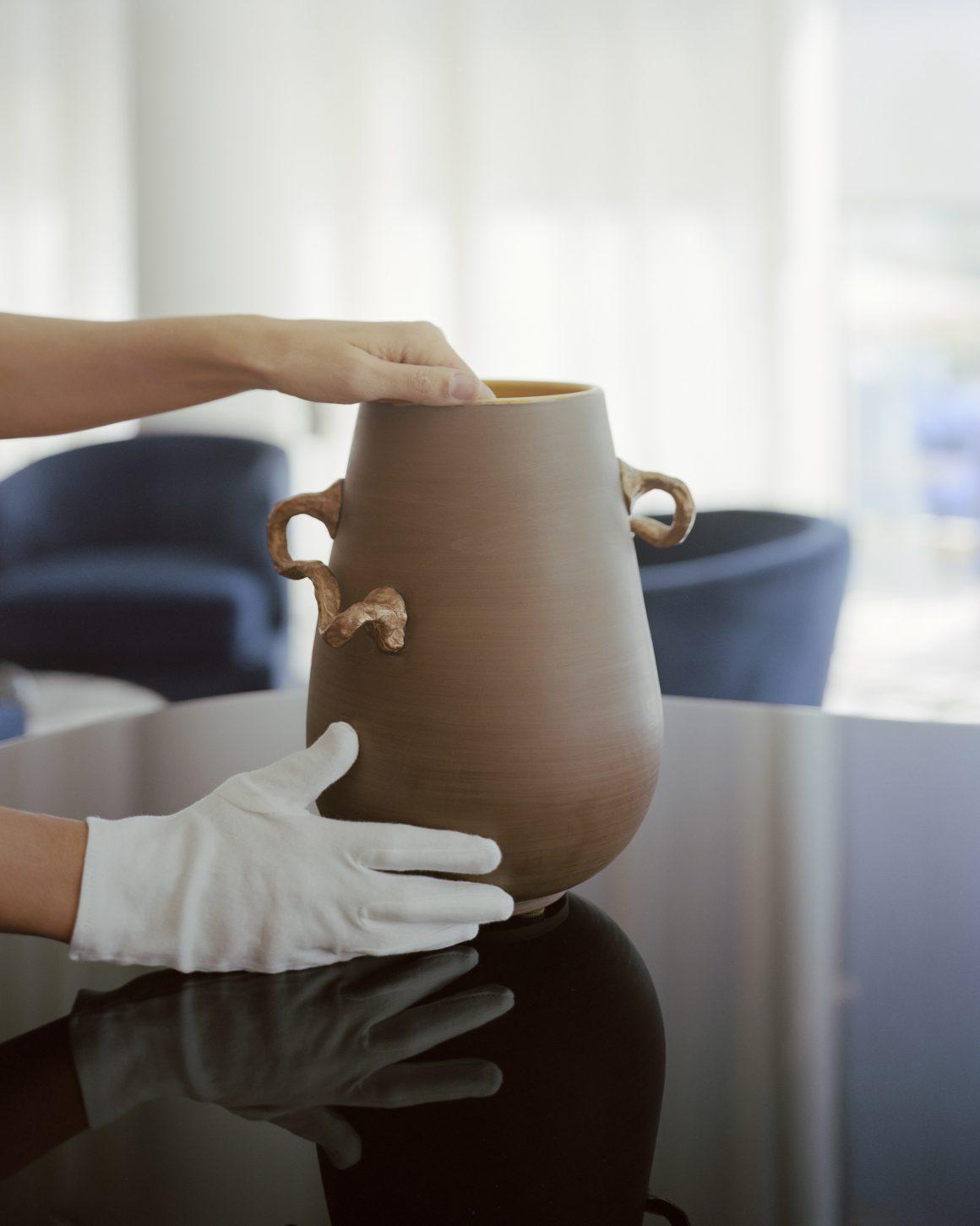 Céramique pour Francois Coquerel, Luxury Collection
