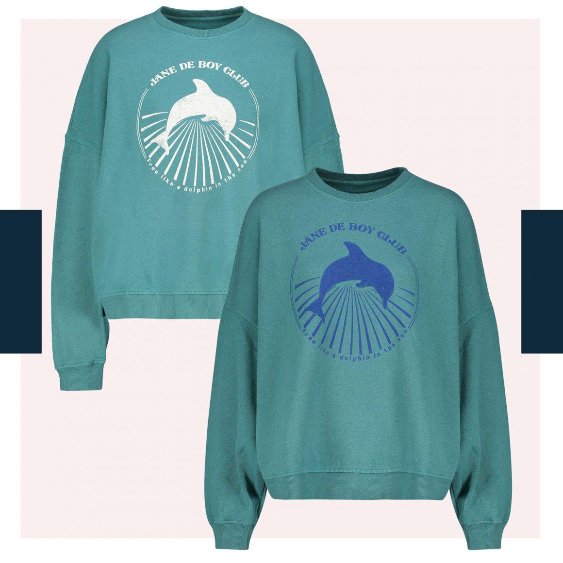 Le sweat-shirt Dolphin Jane de Boy Club de Swildens