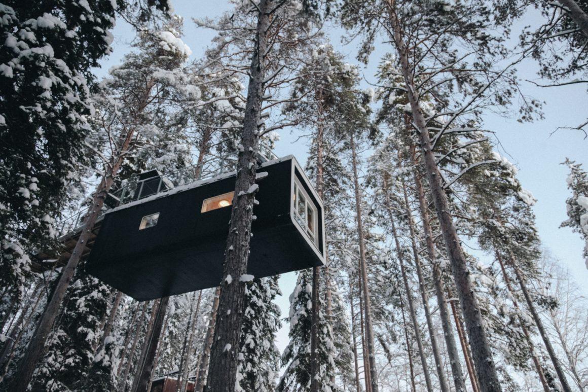 Le Treehotel en Laponie