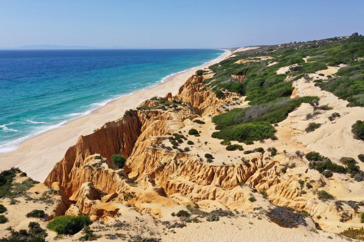Paysage de Comporta au Portugal