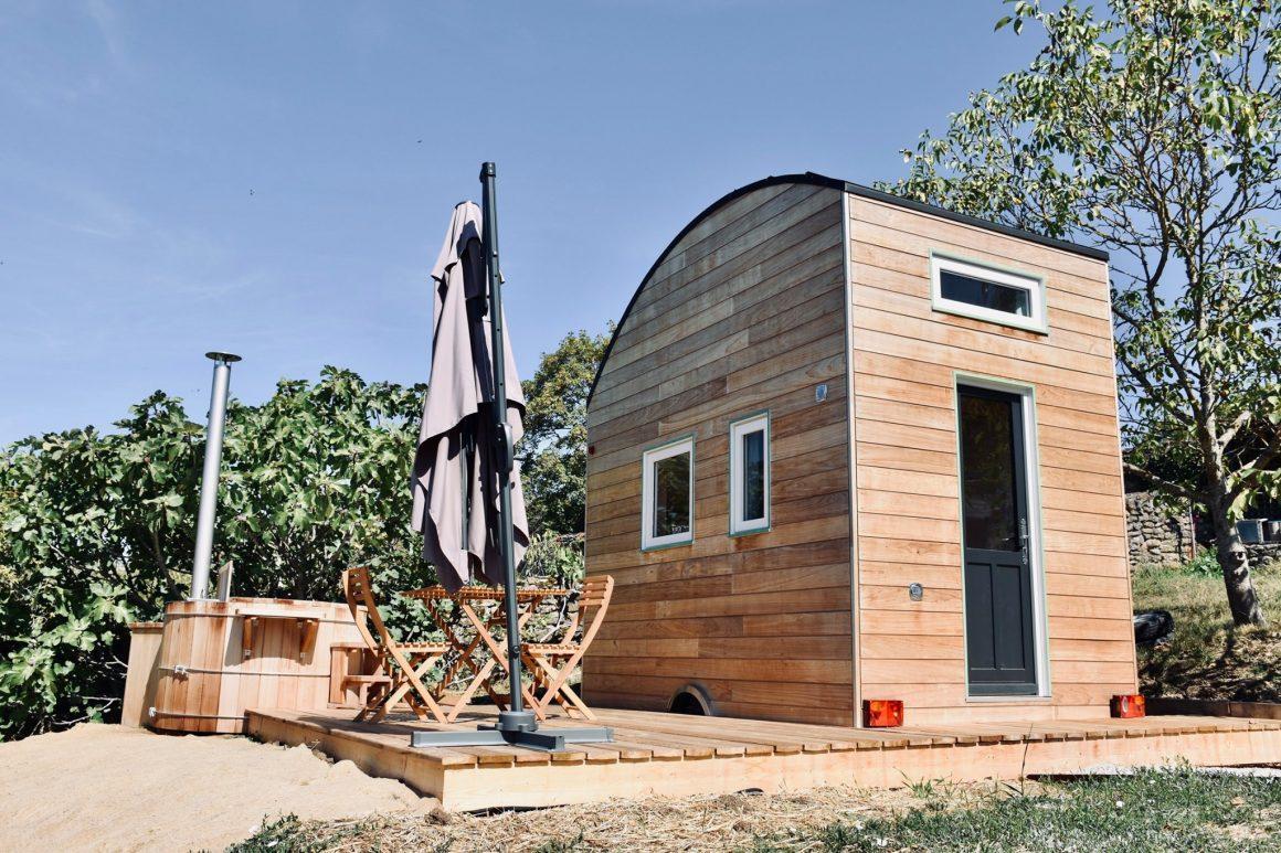 Tiny House au domaine Les Cabottes en Bourgogne
