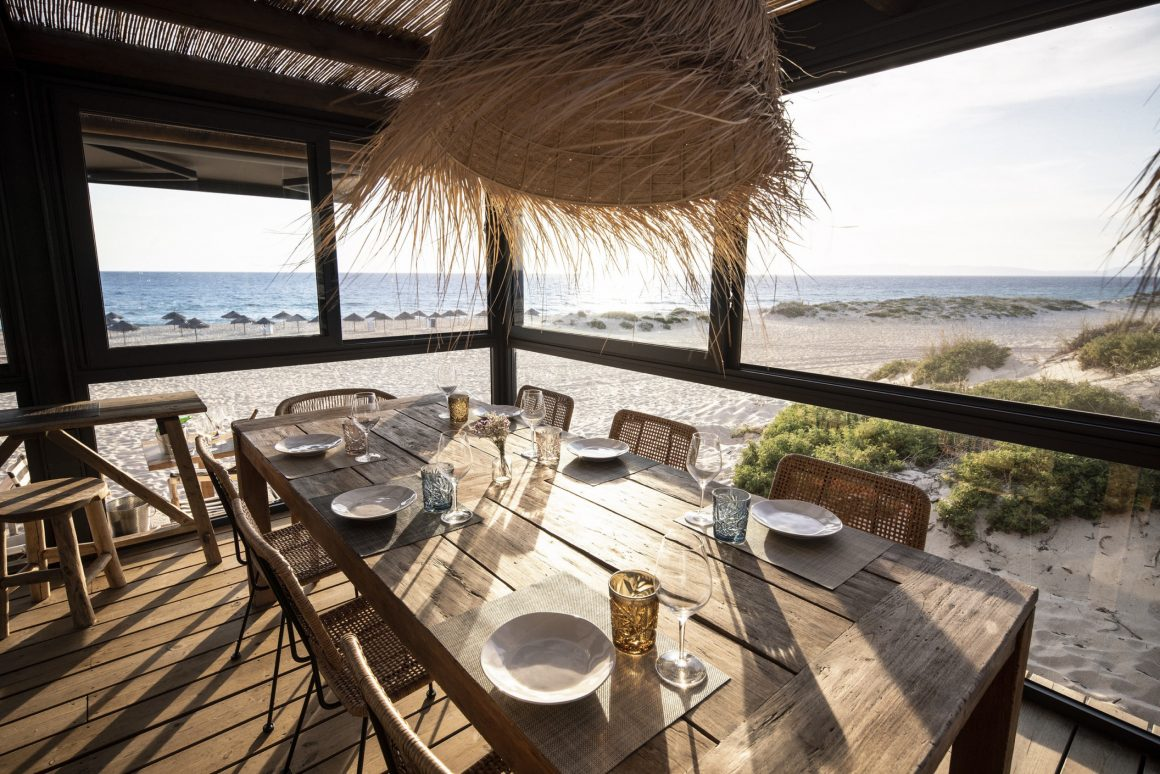 Le Comporta Café sur la plage Praia do Meco