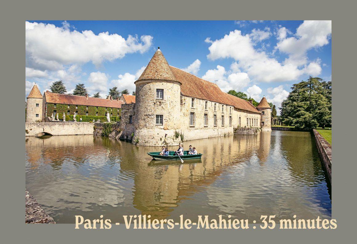 Le Château de Villiers-Le-Mahieu à 35 minutes de Paris