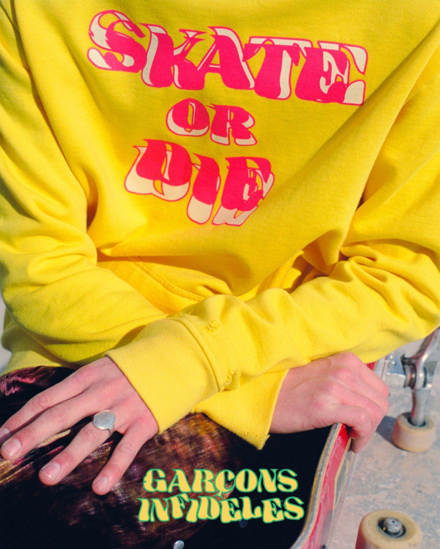 Sweat Skate or Die Garçons Infidèles
