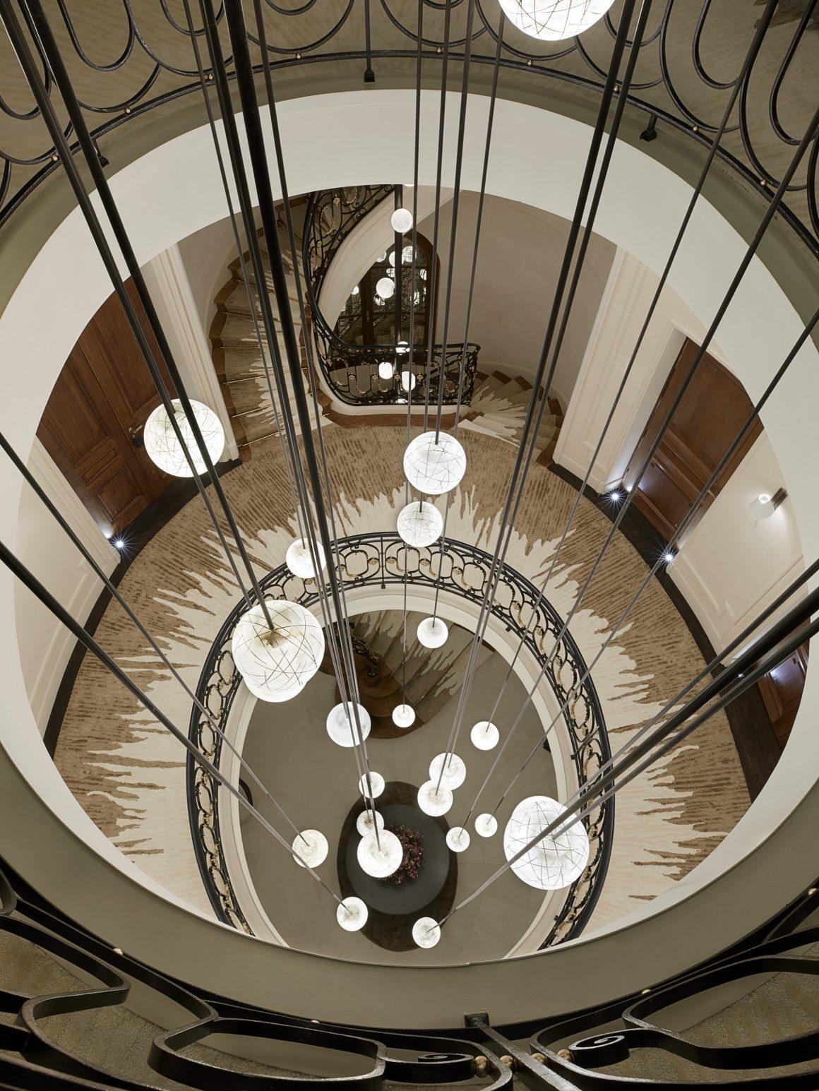 Les suspensions design de la Maison Villeroy à Paris