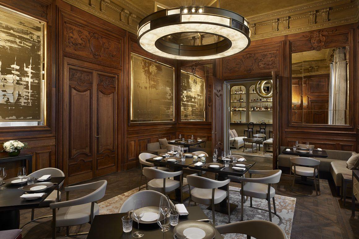 Le restaurant de la Maison Villeroy à Paris