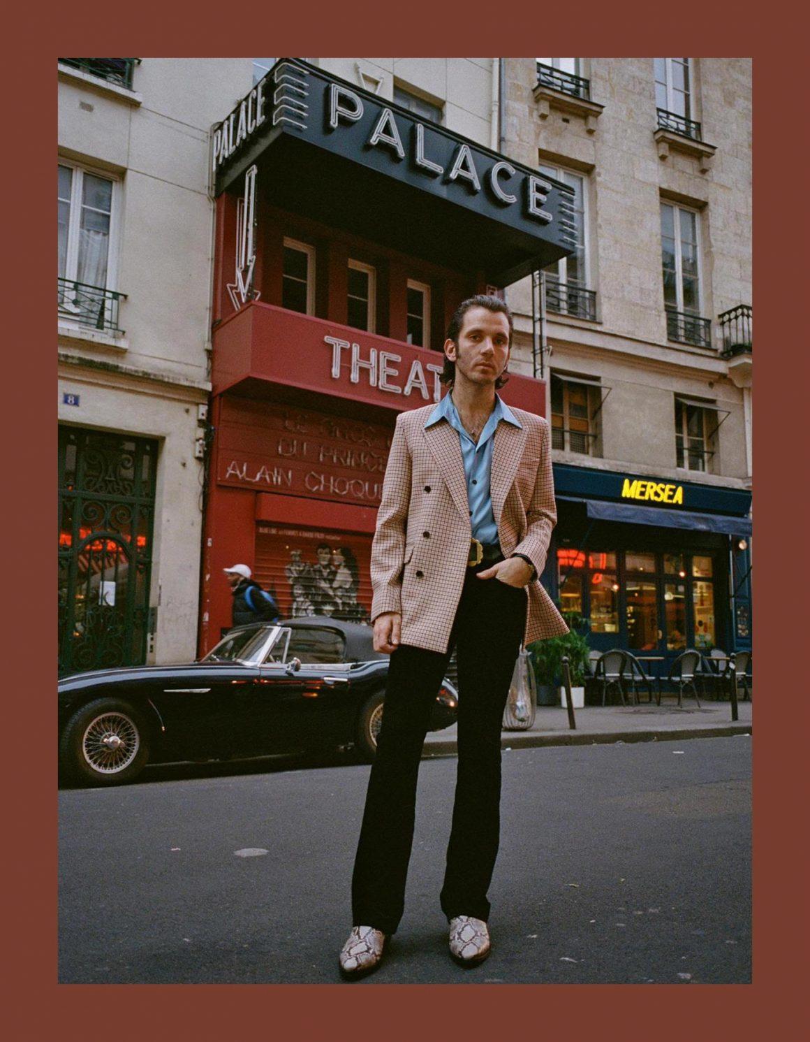Portrait d'Adrien Albou, fondateur de Garçons Infidèles