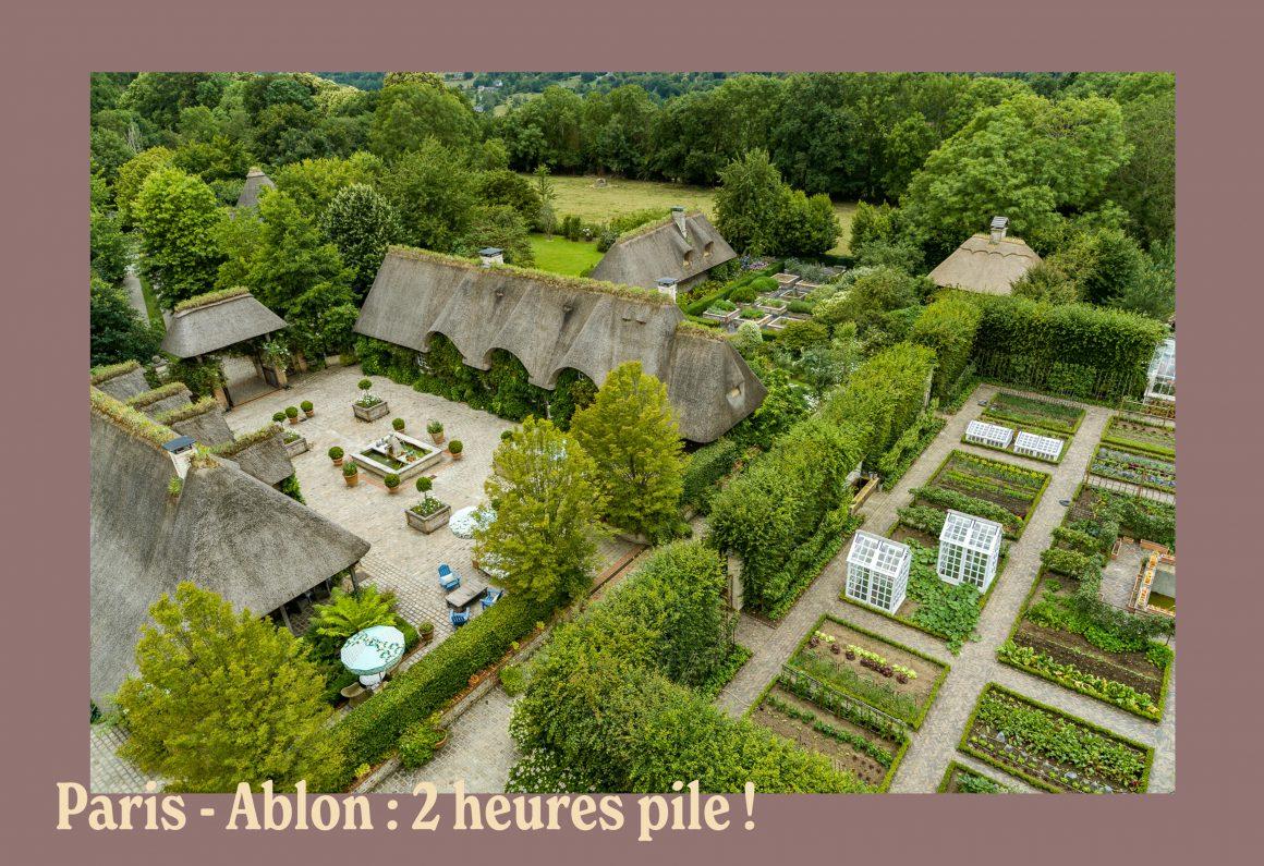 Le Domaine d'Ablon à 2h de Paris